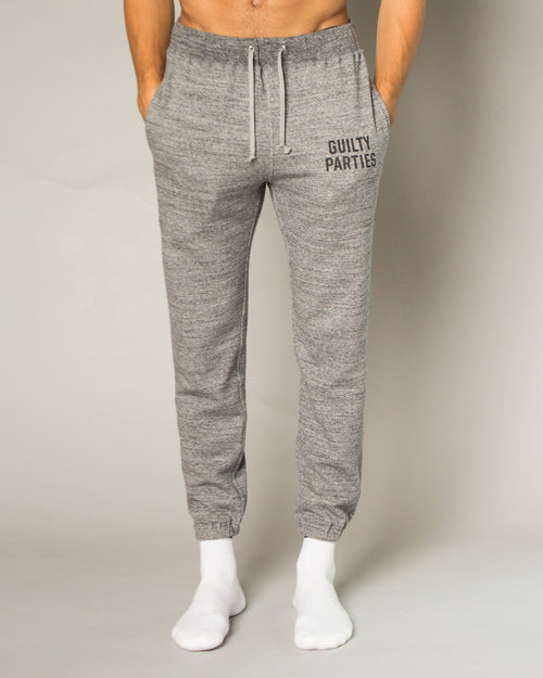 Guilty Parties Cropped Sweatpants Grey 1