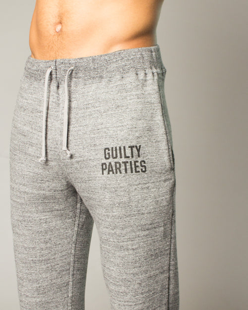 Guilty Parties Cropped Sweatpants Grey 2