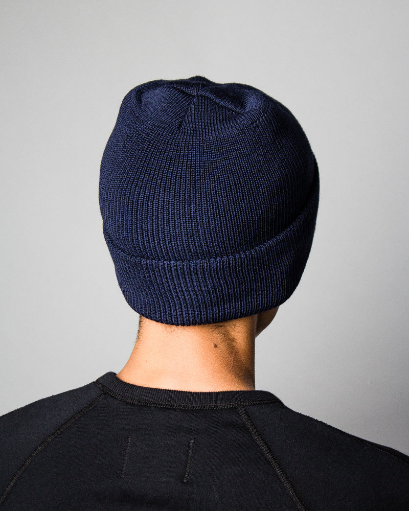 Merino Toque Navy