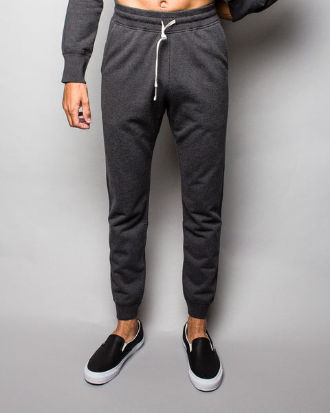 Midweight Terry Slim Sweatpant Charcoal Reigning Champ Mens Sneakers Seattle