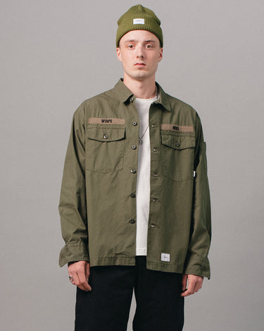 Buds Cotton Shirt Olive Drab 1