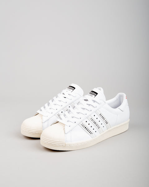 Human Made Superstar 80 Black/White/White