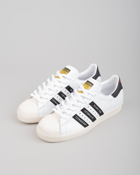 Human Made Superstar 80 White/Black/White