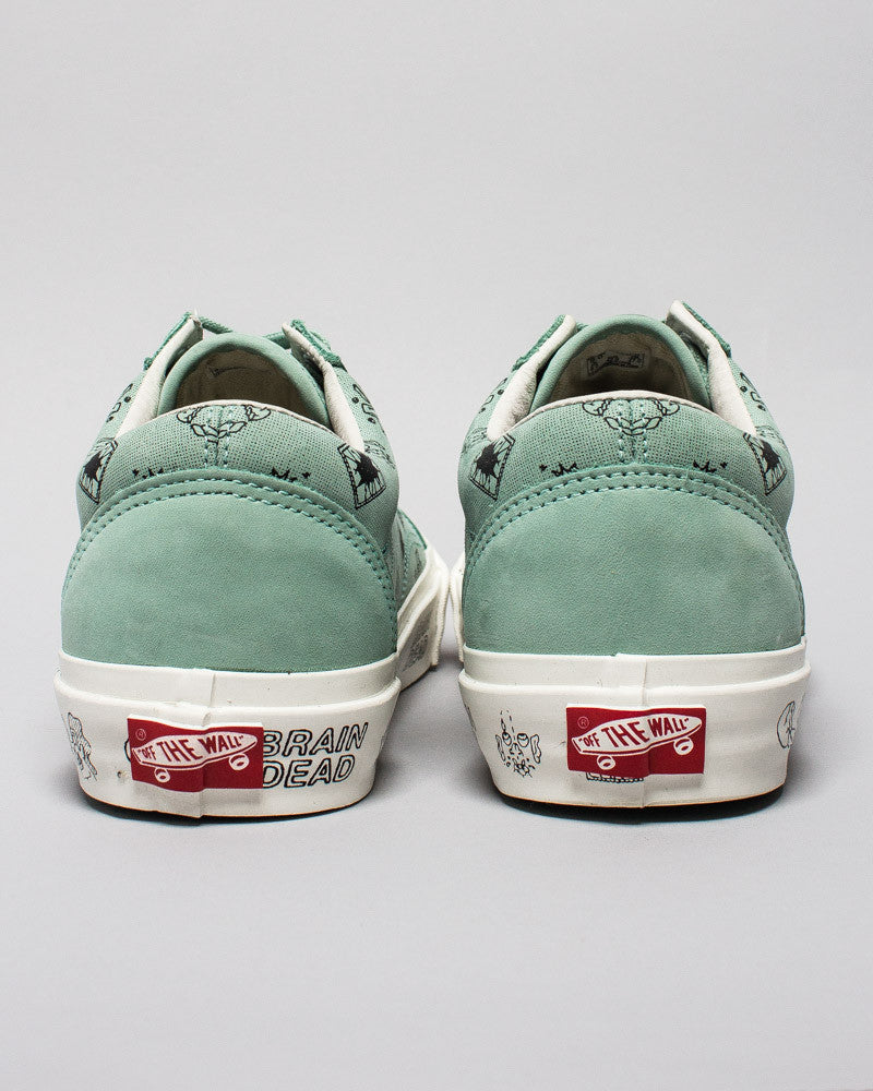 Vans x Brain Dead Old Skool LX Granite Green/Marshmallow