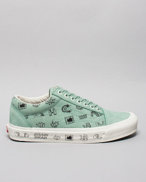 Vans x Brain Dead Old Skool LX Granite Green/Marshmallow Vans Vault Mens Sneakers Seattle