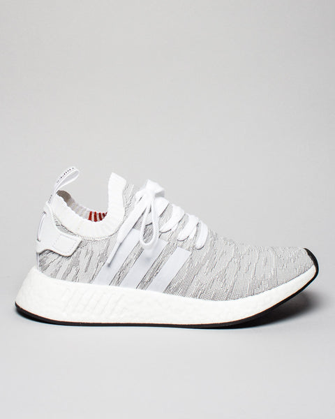 NMD_R2 PK White/White/Black Adidas Mens Sneakers Seattle