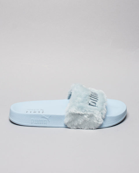 Fur Slide WMNS Blue/Puma Silver Puma x Fenty Mens Sneakers Seattle