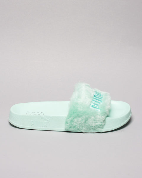 Fur Slide WMNS Bay/Puma Silver Puma x Fenty Mens Sneakers Seattle