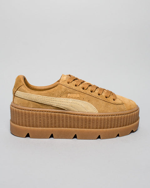 Cleated Creeper Suede WMNS Golden Brown Puma x Fenty Mens Sneakers Seattle
