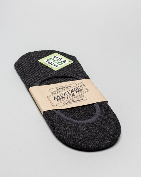 No Show Medium Weight Socks Charcoal AnonymousIsm Mens Sneakers Seattle