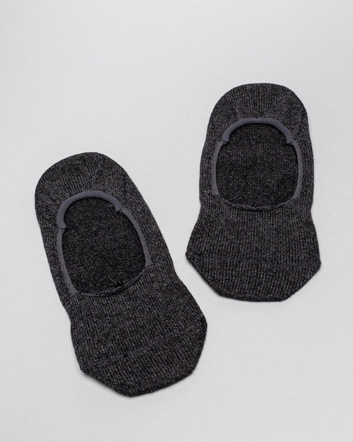 No Show Medium Weight Socks Charcoal 2
