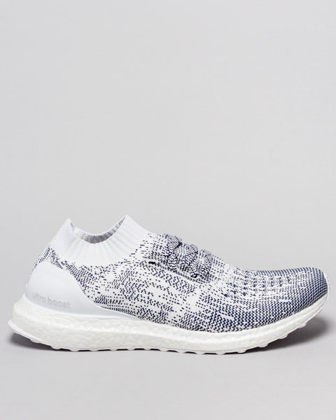 Ultraboost Uncaged Non Dye White / Navy Adidas Mens Sneakers Seattle