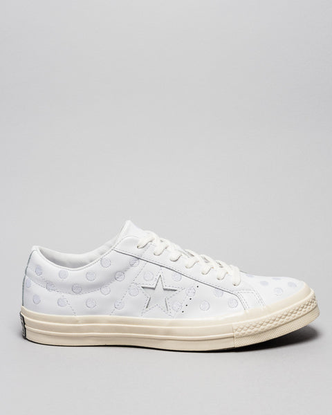One Star 74 Ox Optical White Converse Mens Sneakers Seattle