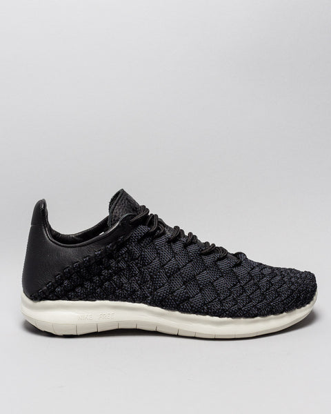 NikeLab Free Inneva Woven Motion Black/Black/Thunder Blue Nike Mens Sneakers Seattle