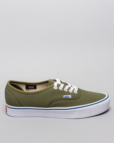 Vans x Schoeller UA Authetic '66 Lit Burnt Olive Vans Vault Mens Sneakers Seattle
