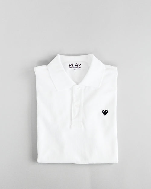 Women's Polo Shirt White 1