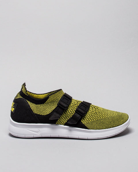 Air Wmns Sockracer Flyknit Black/Yellow Strike Nike Mens Sneakers Seattle