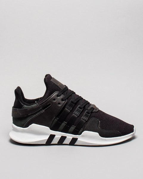 EQT Support ADV Black/White Milled Leather Adidas Mens Sneakers Seattle