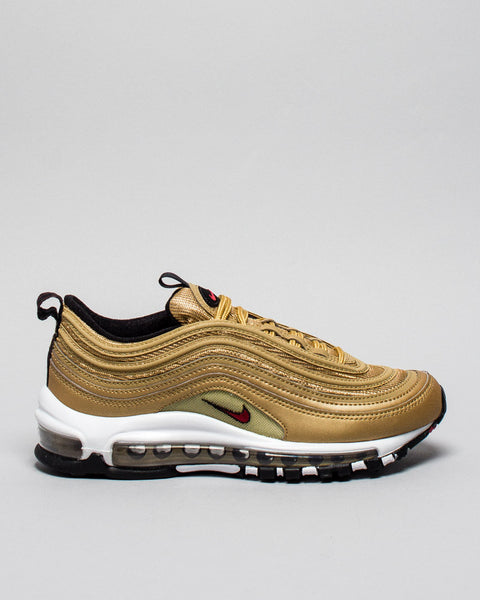 W Air Max 97 OG QS Metallic Gold Nike Mens Sneakers Seattle