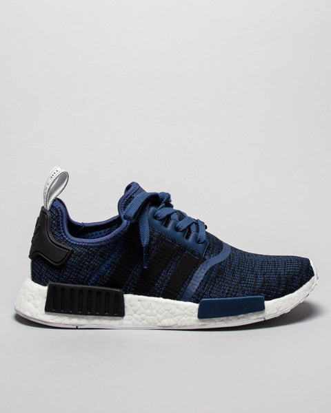 NMD_R1 Mystery Blue/Black Adidas Mens Sneakers Seattle