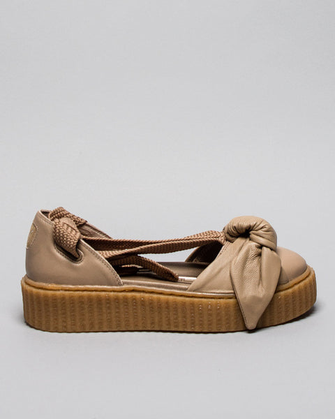 Bow Creeper Sandal Natural Oatmeal Puma x Fenty Mens Sneakers Seattle