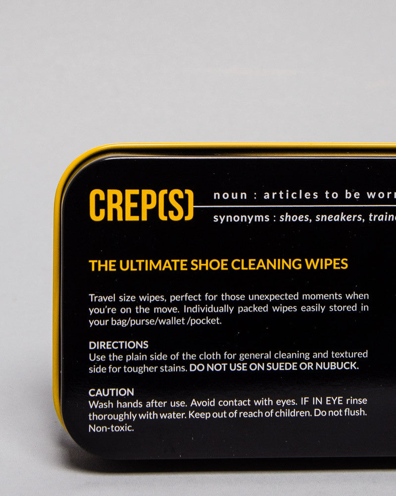 Crep Protect Wipes, 12 Count