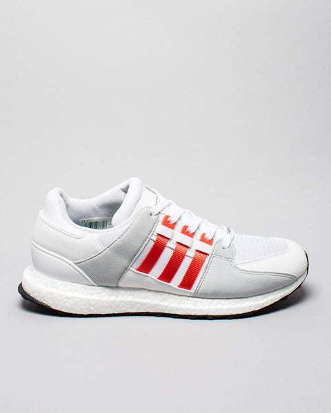 EQT Support Ultra White/Orange Adidas Mens Sneakers Seattle