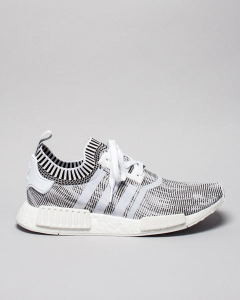 NMD_R1 PK White/White/Black Adidas Mens Sneakers Seattle