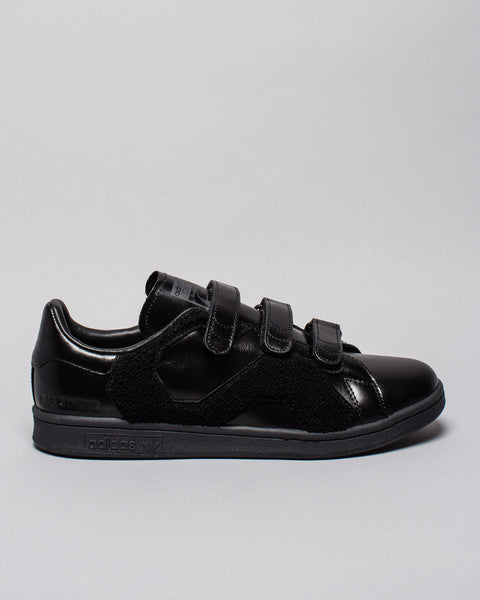 Stan Smith Comfort Badge Black Adidas x Raf Simons Mens Sneakers Seattle