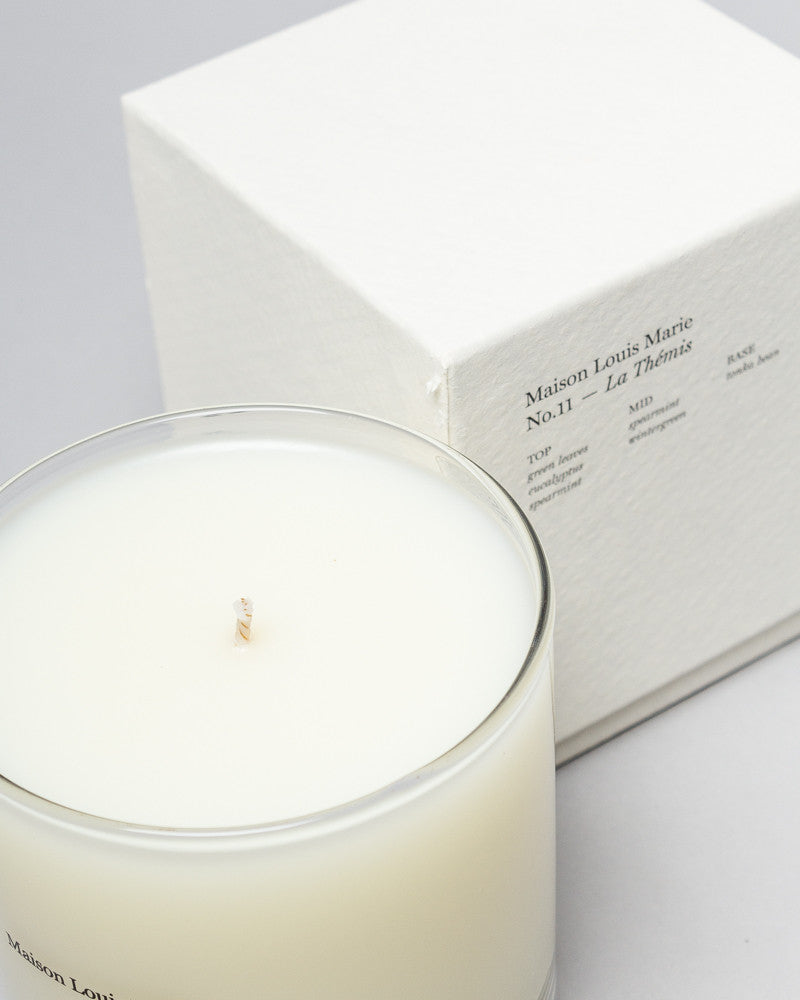 No. 11 La Thémis, Candle with Gift Box