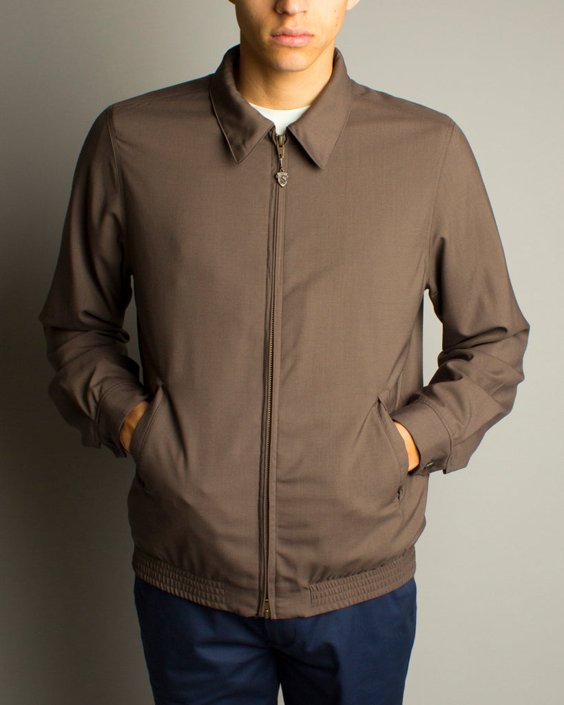 Wool Drizzler Jacket Grey