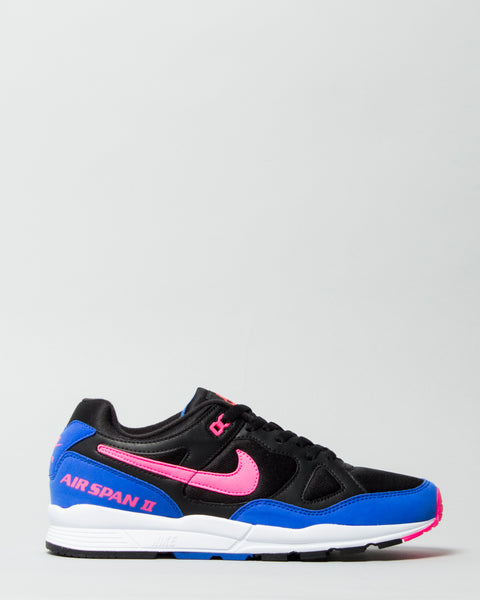 Air Span II Black/Hyper Pink Nike Mens Sneakers Seattle