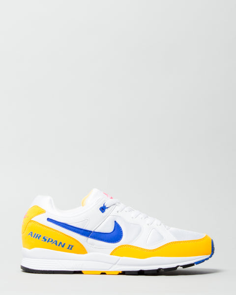 Air Span II White/Hyper Royal/Orange Nike Mens Sneakers Seattle