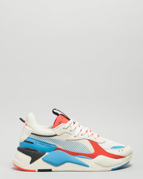 RS-X Reinvention Whisper White/Red Blast 1