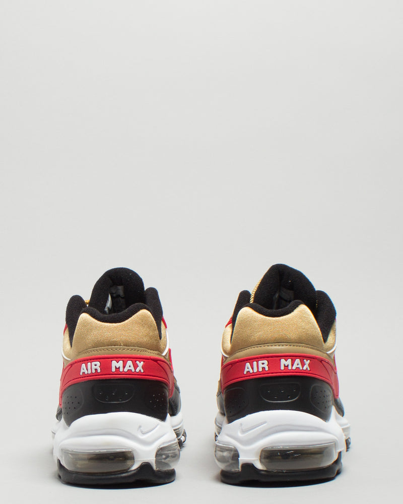 Air Max 97/BW Metallic Gold/University Red/White