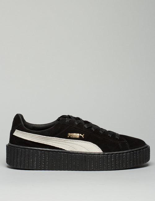 Suede Creepers Black /White Mens 1