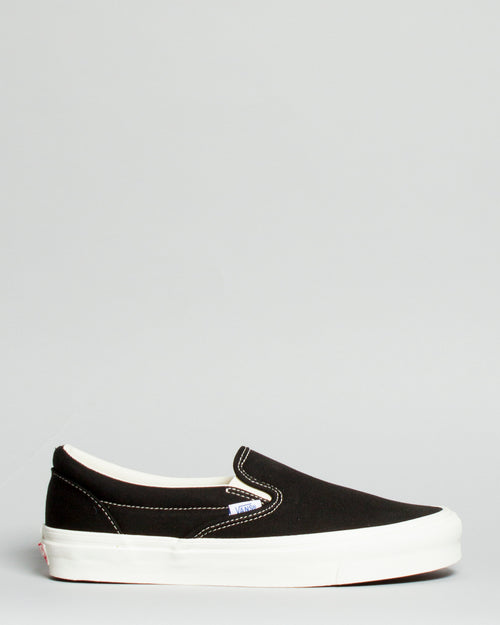 OG Classic Slip-On LX (Canvas) Black 1