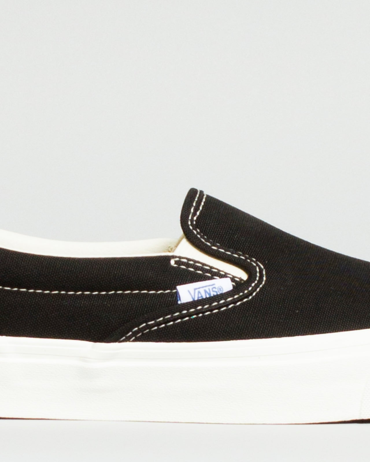 OG Classic Slip-On LX (Canvas) Black
