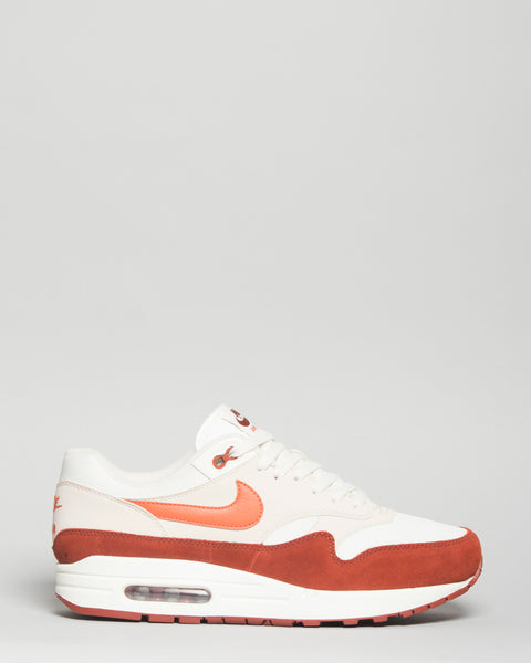 Air Max 1 Sail/Coral/Mars Stone Nike Mens Sneakers Seattle