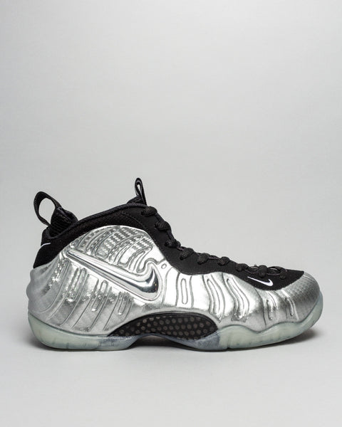 Foamposite Pro Silver Surfer Nike Mens Sneakers Seattle