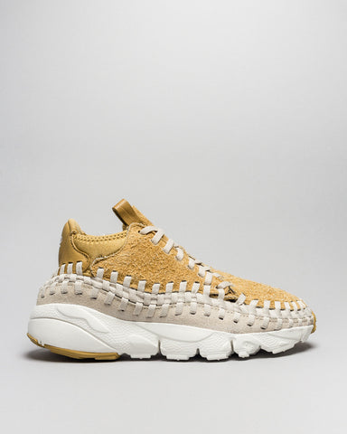 Air Footscape Woven Chukka QS Gold/Orewood Brown Nike Mens Sneakers Seattle