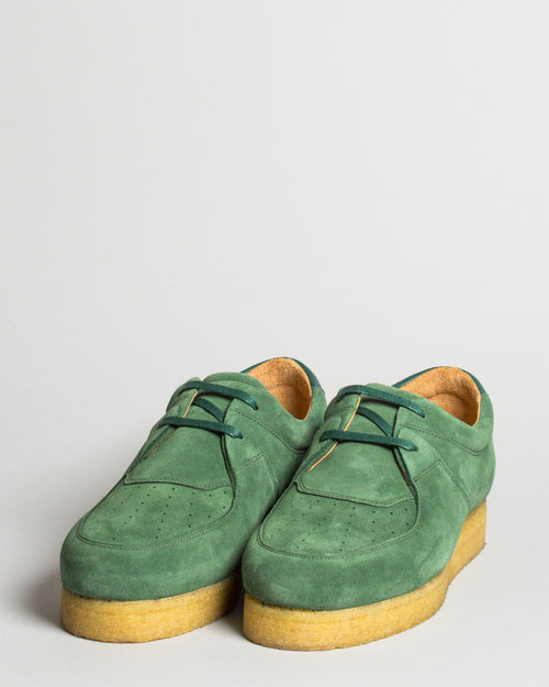 Q27 Wallabee Bottle Green 2