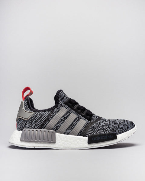 NMD_R1 Core Black/Solid Grey/Core Black Adidas Mens Sneakers Seattle