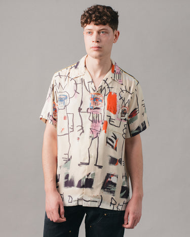 Jean-Michel Basquiat Hawaiian SS Shirt (Type-3) Multi 1