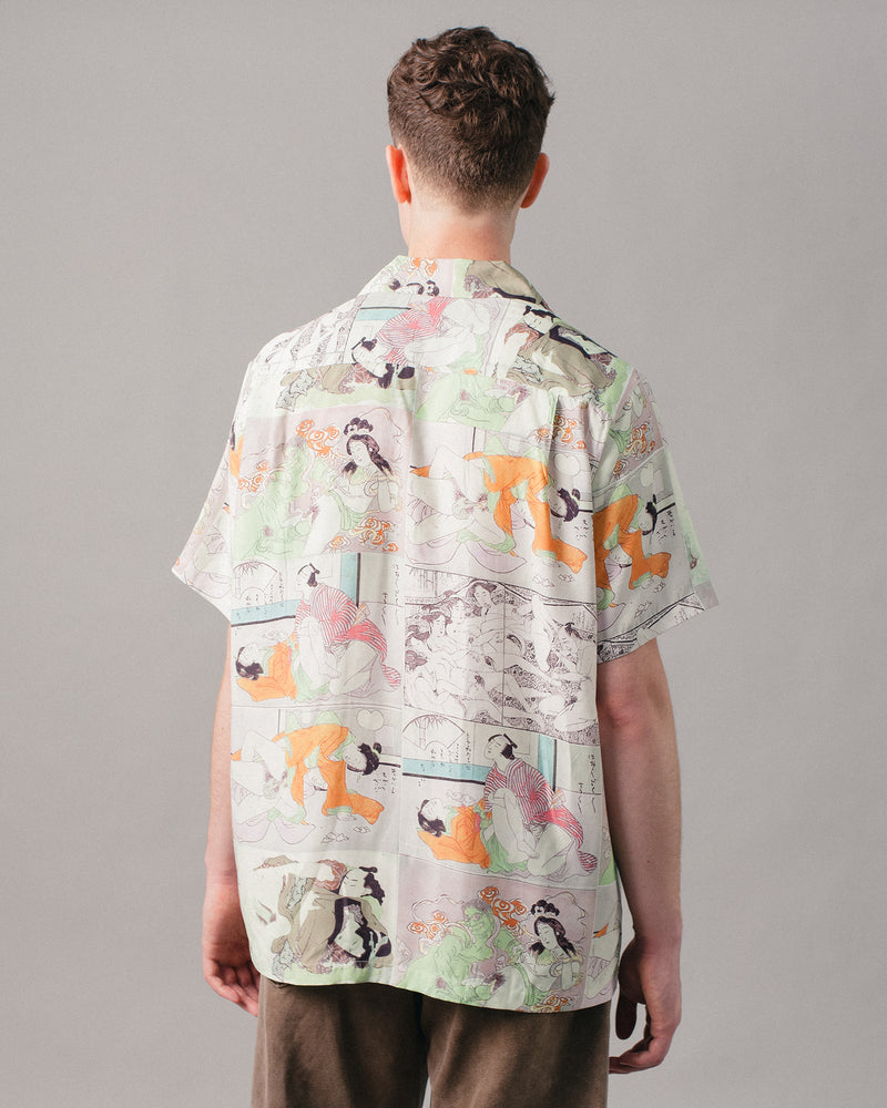 Hawaiian Shirt S/S (Type-1) Green