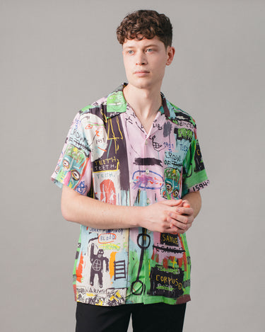 Jean-Michel Basquiat Hawaiian SS Shirt (Type-1) Multi 1