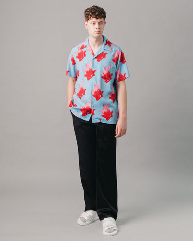Hawaiian Shirt S/S (Type-2) Blue 2