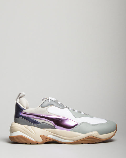WMNS Thunder Electric White/Grey/Violet Puma Mens Sneakers Seattle