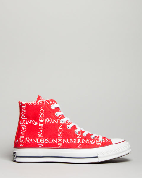 JW Anderson Chuck 70 HI Flame Scarlet/White/White Converse Mens Sneakers Seattle