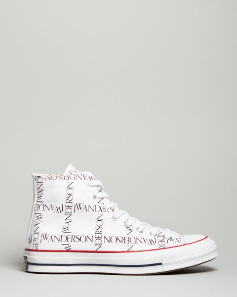 JW Anderson Chuck 70 HI White/Black/Insignia Red Converse Mens Sneakers Seattle